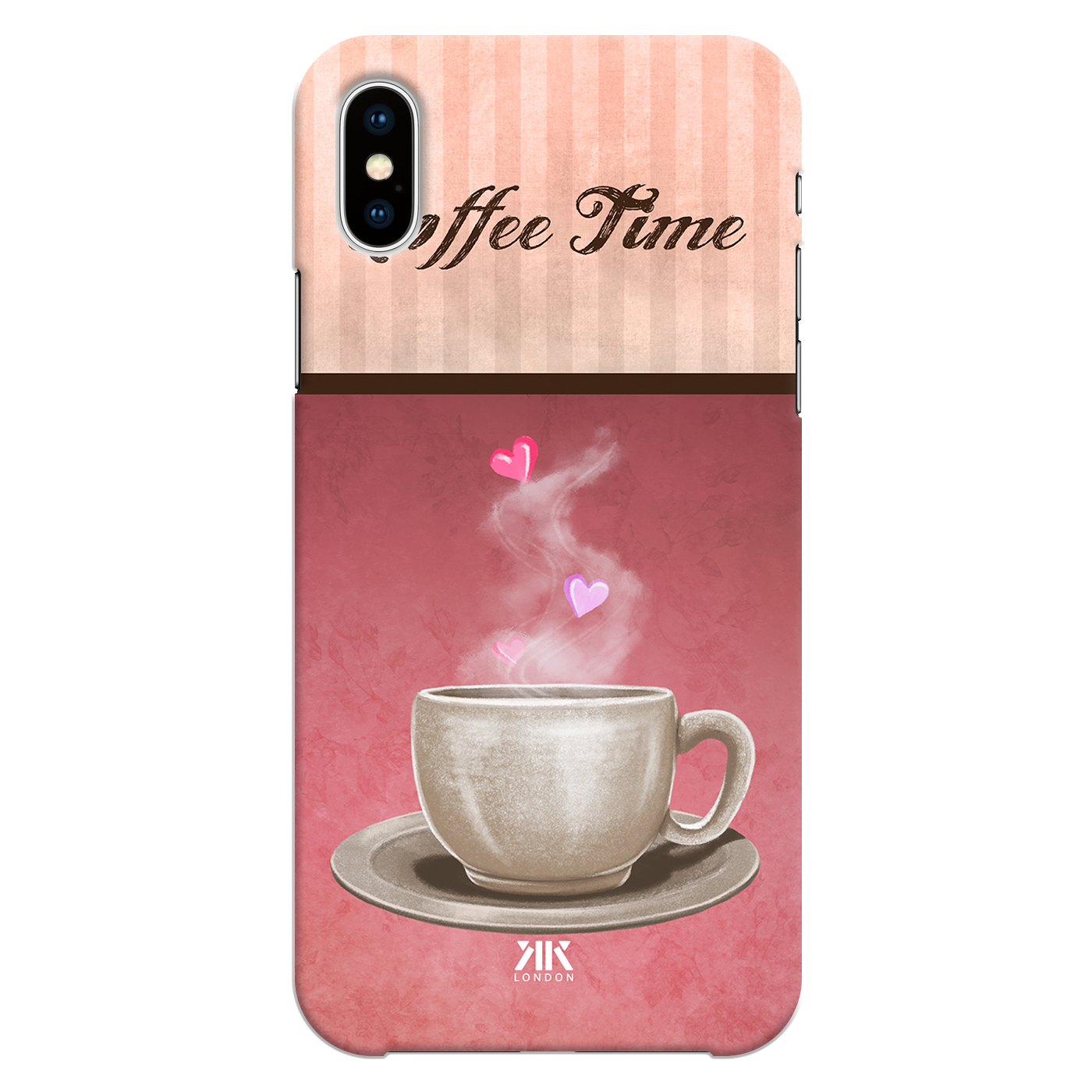 Coffee Love Wallpaper One Phone Cases Covers By Kk Designs