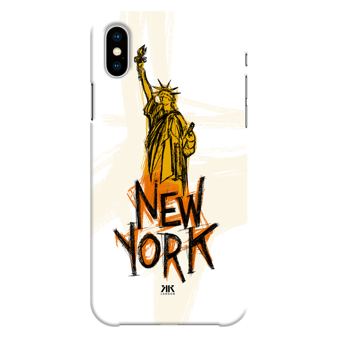 New York Symbol Sketch Phone Cases Covers By Kk Designs