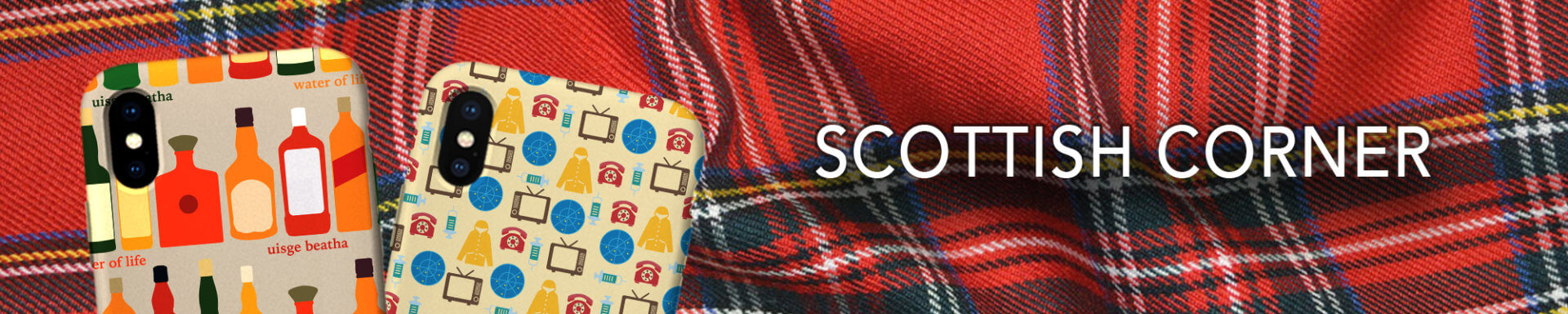 Scottish Corner Phone Cases