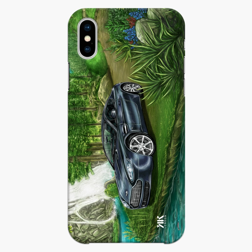 Aston Martin Rapide S 2017 Black Waterfall Phone Cases