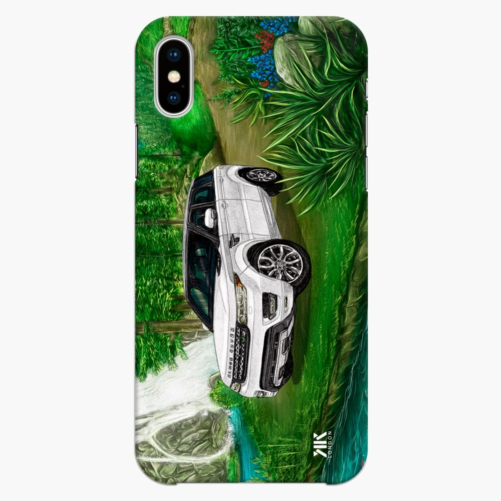 best service 38456 67212 Range Rover Sport HSE 2017 Waterfall Phone Cases & Covers by KK Designs